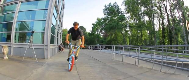 BMX – Aaron Ross amazing fakie line in Atlanta