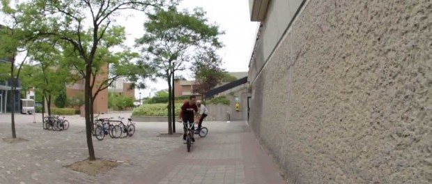 BMX – Aaron Ross and Lee Dennis mix tailwhips, drop-ins and doubles runs in one.