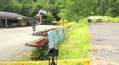 BMX – Big Toboggan gap by Chris Childs