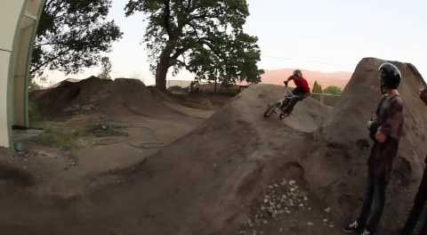 BMX – Crazy over under by Aaron Ross and Gary Young