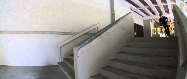 BMX – Gary Young taking ramp tricks to ledges