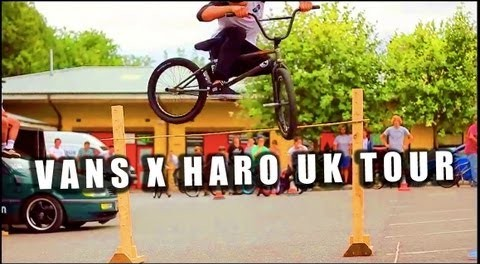 BMX – VANS X HARO BIKES UK TOUR VIDEO