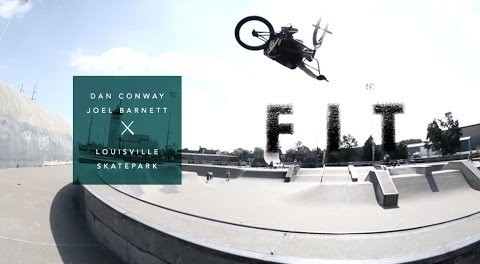Dan Conway and Joel Barnett at Louisville Skatepark