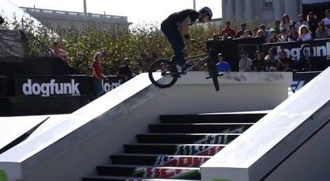 DEW TOUR BMX STREET PRELIMS VIDEO 2013