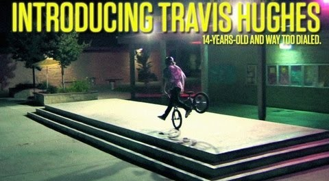 Introducing 14-Year-Old Travis Hughes