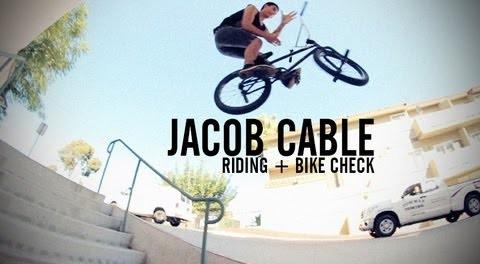 Jacob Cable – Riding + Kink Bike Check