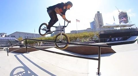 NATE VS WORLD: DEW TOUR BMX STREET 2013