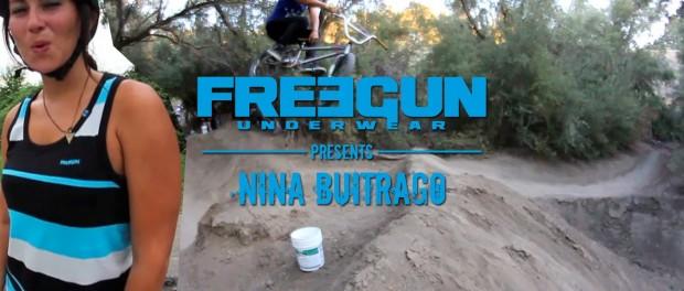 Nina Buitrago – Freegun BMX Video