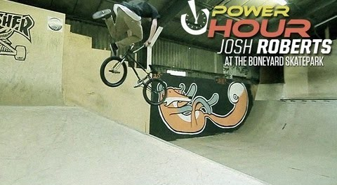 Power Hour: Josh Roberts at Boneyard Skatepark