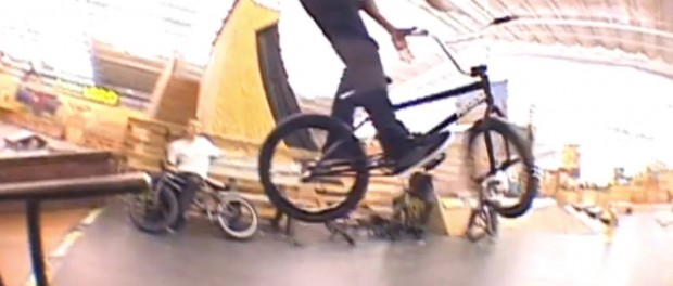 NON-COMPETITIVE BMX RIDING FROM THE VITAL GAME OF BIKE