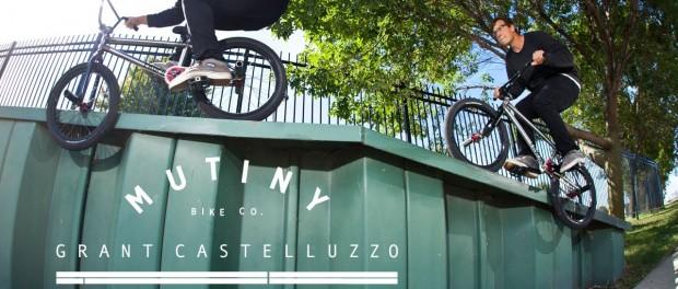 BMX – GRANT CASTELLUZZO – WELCOME TO MUTINY PRO