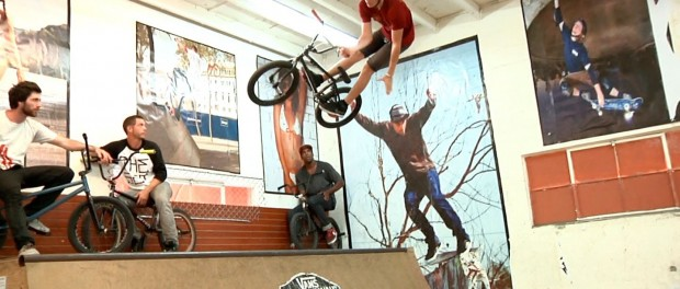 BMX: Mini-ramp Session with Tom Villereal, Sean Morr, and more…