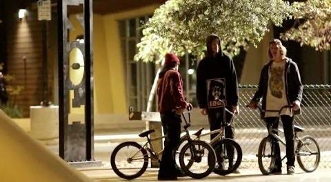 BMX AT NIGHT