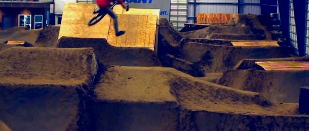 BMX: Burlington Bike Park – Indoor Dirt Complex