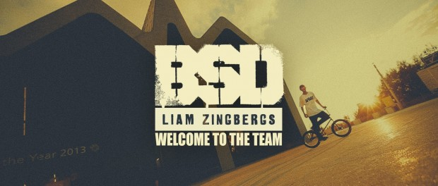 BSD – Liam Zingbergs – Welcome to the Team