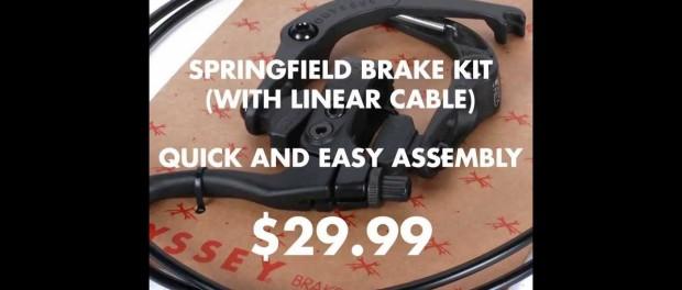 BMX – Braking News – Springfield Brake Kit
