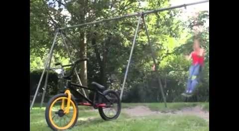 BMX SWING SET FLIP TRICK