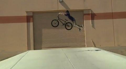 JOEY MOTTA RIDES BMX IN VEGAS