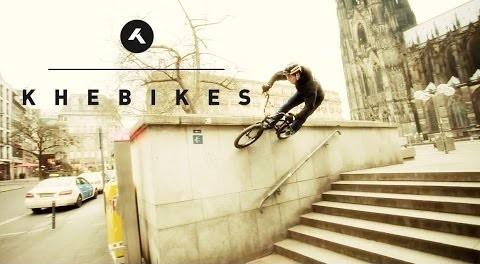 KHE BIKES – Christian Lutz in Cologne – BMX