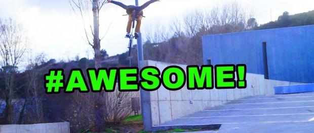 BMX: Awesome No Hand Drop by Ed Zunda