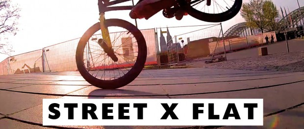 BMX Street x Flat in Cologne #AWESOME powered by Rollei S-30