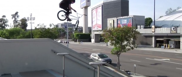 BMX – A Day in LA with Dan Paley, Brandon Begin and Mikey Tyra
