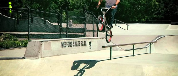 BMX – Gary Young and the Lincoln stem