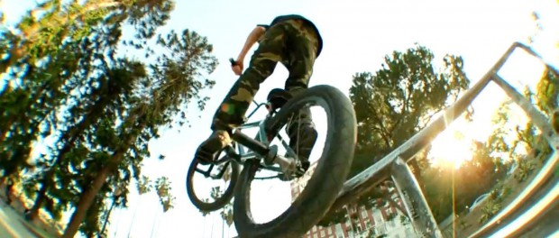 BMX: How-To Tireslide A Rail With Tom Villareal
