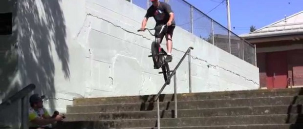 BMX – Icepick Rail Gone Wrong