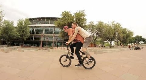 BMX – Instagram Slam On Street In Phoenix, AZ