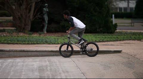 BMX STREET – Courage Adams – Awesome Line @woozybmx