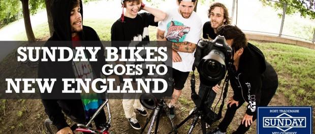 BMX – Sunday Bikes Goes to New England