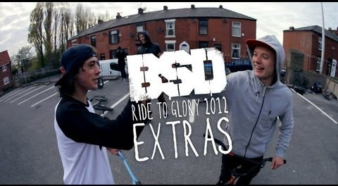 BSD Ride to Glory 2012 extras