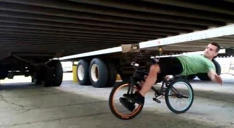 Bike limbo how-to with Tim Knoll