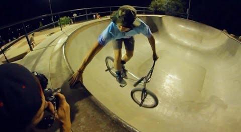 BMX – Brandon Webster On Texas Concrete