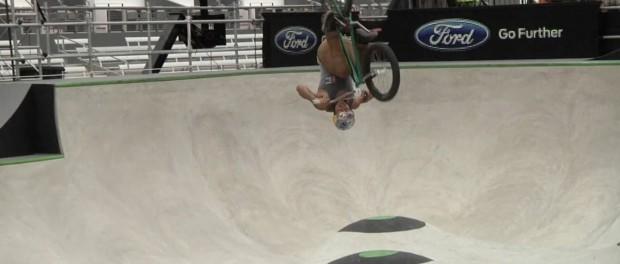 BMX: X Games 2014 – Daniel Sandoval's Bronze Medal Run In Park