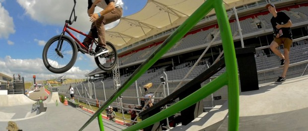 BMX: X Games 2014 — Street Practice Day Two.