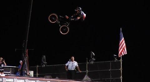 MORGAN WADE'S HUGE BMX BIG AIR RUN
