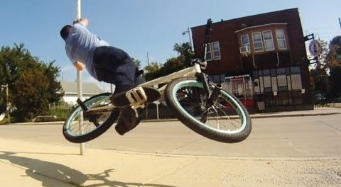 Tim Knoll – How to Poleswing with a bike