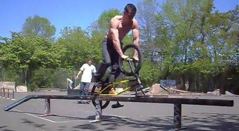 Tim Knoll's Unique BMX Tricks