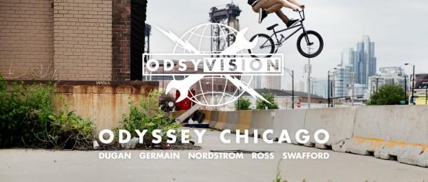 BMX – ODYSSEY CHICAGO – AARON ROSS, TOM DUGAN, GRANT GERMAIN, MATT NORDSTROM AND JARED SWAFFORD