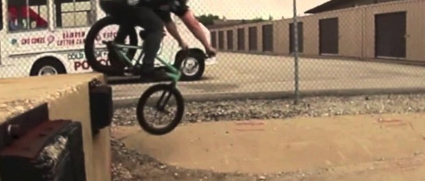 FAIL: BMX Rider Loses Some Hair On The Ground