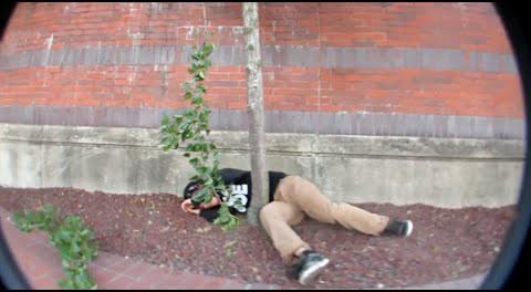 FAIL: BMX Rider Smashes His Head On A Tree