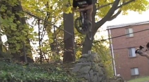 BMX – DAN CONWAY – STINK PIT 3 SECTION