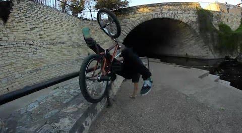 BMX – Erik Elstran vs The Rail/Ledge