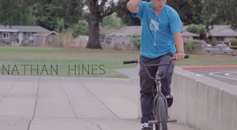 BMX Street – Nathan Hines in Portland