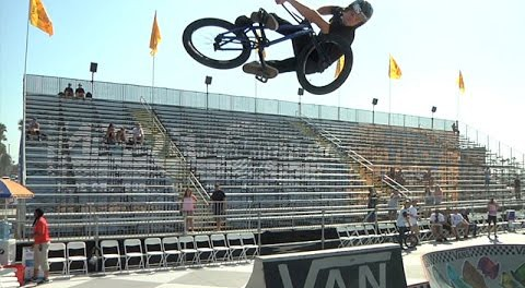 BMX – Vans US Open 2014 – Day Two Practice Session