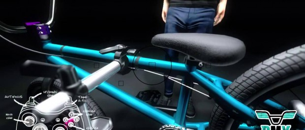BMX Video Game – Bike Editor Footage