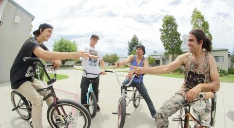 GAME OF BIKE with Alex Raban & The Wumpus Crew