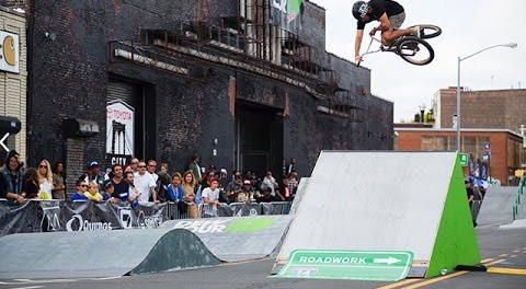 BMX: Brooklyn Dew Tour 2014 – Street Style Practice